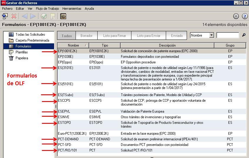 Oficina espa ola de patentes y marcas sede electr nica for Oficina de patentes y marcas europea